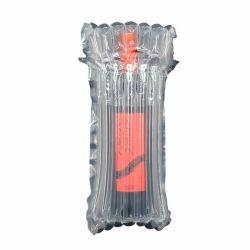 Vin bouteille d'Air Bag Protector Protecteur de transport de résistance aux chocs PE/Matériau PA Bouteille de vin de la bulle d'enrubannage à coussin d'emballage de la colonne de l'air bag