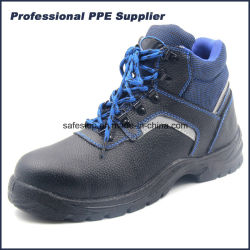 Hohe Schnitt PU-Einspritzung-wasserdichte industrielle Sicherheits-Fußbekleidung