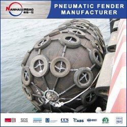 La norma ISO 17357 neumática Barco Barco tipo Yokohama guardabarros de goma para proyectos de la Marina