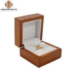 맞춤형 목재 선물 상자 소형 목재 귀금속 포장 상자 선물 나무 링 포장 상자