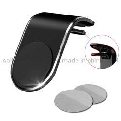 L Form-einfacher magnetischer Typ Luft-Anschluss-Auto-Telefon-Halter