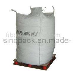 Gran ventilada Agrícola Big Bag para el llenado de los cacahuetes