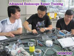 Reparación de Equipo Médico endoscopio flexible de educación formación