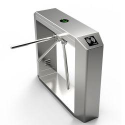 Entrée de contrôle automatique de l'accès piétonnier du temps de présence trépied tourniquet barrière de sécurité