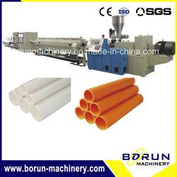 البلاستيك PVC / UPVC المياه والصرف الصحي الأنابيب طرد خط الإنتاج الأنابيب / CPVC أنبوب إخراج صناعة تصنيع مزدوج برغيم