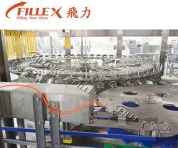 Complete automatische fles water gecarboneerde frisdrank vloeibare gebotste drank SAP Energy Drinks Bottling Filling productielijn