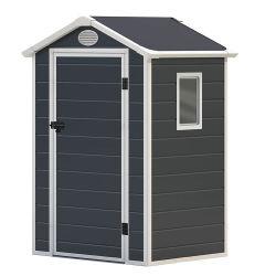 2020 Novo Modelo 4*6FT Jardim de plástico galpões de armazenagem Casa Exterior