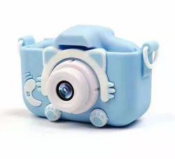 سعر الجملة مفيد أنيق لطيف جميلة عيد الميلاد هدية للأطفال ألعاب الأطفال كاميرا مع بطاقة SD 20 مليون بكسل