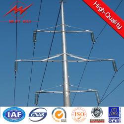 30 pies de Energía Eléctrica poste de acero galvanizado