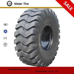 Neumático con Cargador de Ruedas Radial y Diagonal