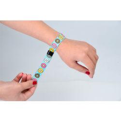 Wristband tessuto a gettare del braccialetto di sublimazione