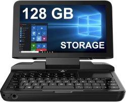 Gp. D Micro PC mini notebook da Indústria, [128 GB. 6 POLEGADAS UMPC portátil notebook portátil