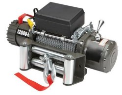 Wiederanlauf Truck Winch 12000lbs Wireless 12VDC CER Approved