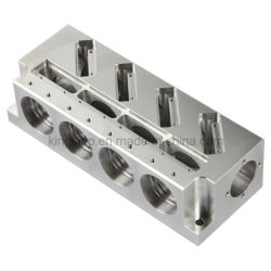 Piezas de aluminio mecanizado CNC (No. 0170)