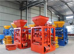 Qtj4-24 Máquina automática de bloques de cemento bloque de hormigón Maker