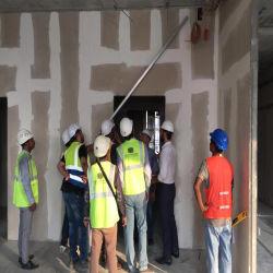軽量EPSのセメントサンドイッチ壁パネルの耐火性のファイバーのセメントパネルによってプレキャストされるEPSの具体的なセメントサンドイッチ壁パネルは内部および外壁のために絶縁する
