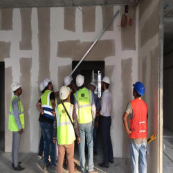 Leve à prova de fogo do tipo sanduíche de EPS do painel de parede para Interior/paredes exteriores