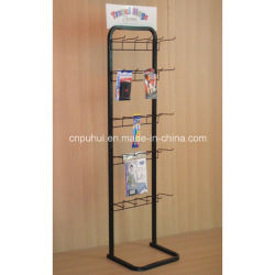 Banco di mostra del collegare e del metallo di promozione di vendita al dettaglio di promozione della memoria del pavimento (PHY375)