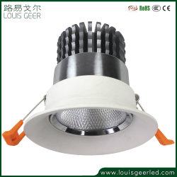 توفر الشركة المصنعة تقنية LED لضوء عالي القدرة على تخفيت الضوء بقوة 12 واط وقوة 15 واط وقوة 30 واط ضوء لمعرض متجر المجوهرات خزانة عرض المعارض