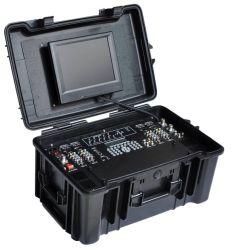 Valigia Video Wireless Receiver di Cofdm 4-CH con Duplex Audio HD