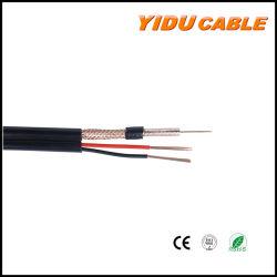 Rg59+2c Câble coaxial pour caméra de vidéosurveillance /RoHS Télévision par satellite avec ce connecteur BNC standard et DC