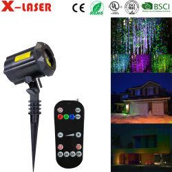 Commerce de gros prix d'usine Cristmas projecteur laser de plein air pour l'extérieur des feux de décorations de Noël Proyector Luces de navidad