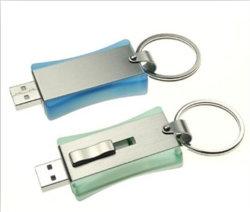 Oferta promocional de envio de metal e puxe a unidade flash USB/Disco USB
