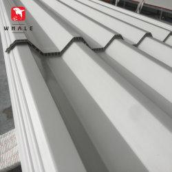 Panel de Onda de PVC corrugado plástico de PVC Panel Roofing Hojas onduladas de PVC hueco piso techo