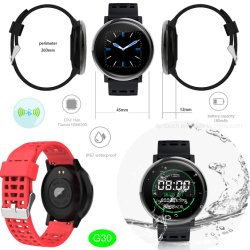 IP67 waterdichte Bluetooth Smart Armband met 180mAh Oude stand-by G30