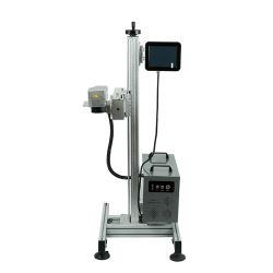 Placa de identificação da máquina de fazer com o software 20W 30W 50W arvorando impressão laser a máquina