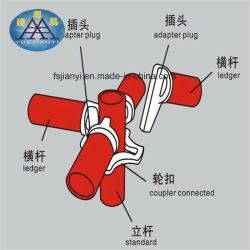 Systeem van de Steiger van het Stadium van het Slot Selflock van de Leverancier van het Bedrijf van de bouw het Chinese Tubulaire Snelle
