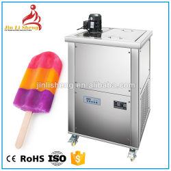 Gran capacidad de 6 moldes de hielo máquina Lolly Tanque de salmuera