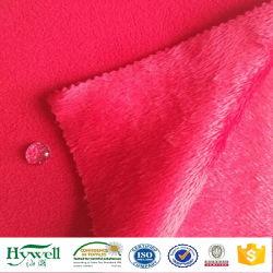 Tessuto del panno morbido di Softshell della maglietta felpata di Hoodie del rivestimento del poliestere di 2 strati