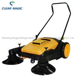 De schone Magische MiniMachine van de Veger van Unpowered van de Vloer van de Duw van de Hand CD200A voor Beschikbare het Gebied van Factorys/van het Stof van /Mine/Light van de Gebouwen van Luchthavens/van het Bureau