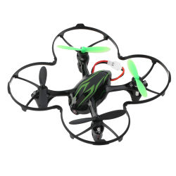 Telecomando senza fili originale Quadcopter delle asce 2.4GHz di Hubsan H107c 4 con giocattoli del modello di telecomando dei ronzi della macchina fotografica di 2MP HD i mini