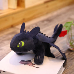 プラシ天のおもちゃの柔らかい子供のためのドラゴンによって詰められる日本製アニメの人形