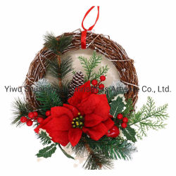 Qualitäts-Weihnachtswreath-dekorativer WeihnachtsSwag Prelit WeihnachtsWreath