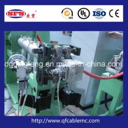 Une haute précision faible émission de fumées et zéro halogène Ligne de production de l'extrudeuse d'Extrusion pour les fils et câbles