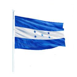 Naar maat gemaakte Vlaggen 3X5 voet en Blauwe Witte vlag 5 van het Land van Honduras Nationale Sterren