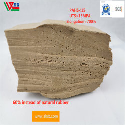 Caucho reciclado natural de látex amarillo amarillo de goma látex natural de alta resistencia natural de caucho reciclado
