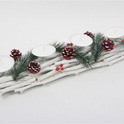 나무로 되는 예술 기술 당 훈장 크리스마스 장신구
