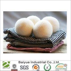 Venda quente 100% lã as esferas do secador para lavandarias