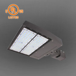 IP65 屋外用 100W LED パーキングロット照明固定具 LED シューボックスライト