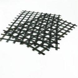 Asfalto Betume de reforço de fibra de vidro revestidos Geogrid