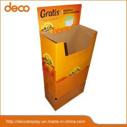 Установите флажок из гофрированного картона картонные коробки дисплея витрины