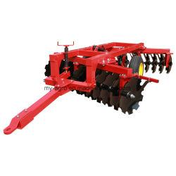 Control hidráulico pesado grada de discos con ruedas para el trabajo agrícola