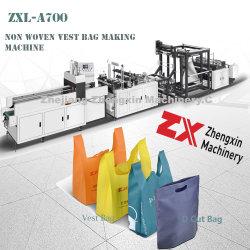 T-Shirt non tissé Bag Making Machine à faire en ligne (ZXL-A700)