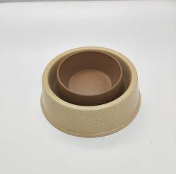 Ciotola di bambù sicura della lavapiatti e riutilizzabile della fibra dell'animale domestico (YK-PB011)