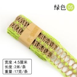 4cm*2m Openwork material decorativo roupa artesanais bricolage rendas