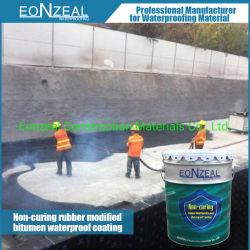 (Nevel het Toegepaste niet Genezen) de Rubber Waterdichte Deklaag van het Asfalt/Vloeibaar Waterdicht Membraan